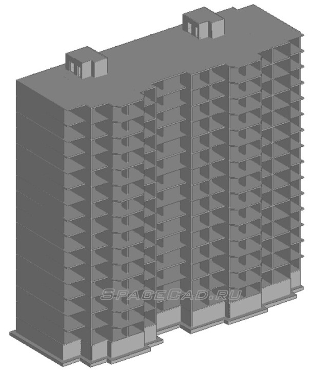 Общий вид расчетной модели