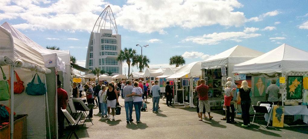 Space Coast Art Festival Exploration Tower