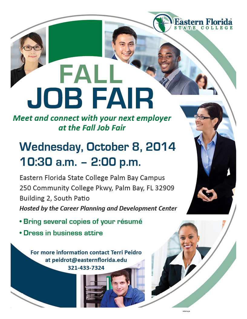 the job fair is open to all efsc students and alumni students are
