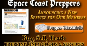 Space Coast Preppers Announces New Classifieds