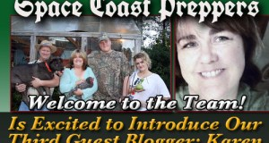 Introducing Karen- Newest Space Coast Preppers.com Guest Author