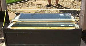 Cooking After The Collapse- simple box solar oven