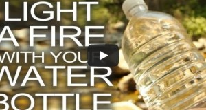 Start a Fire With a Water Bottle?? Really!