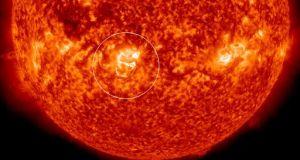 Sunspot AR 1936 Awakens: Medium Flare Starts The Fireworks - Space Coast Preppers.com
