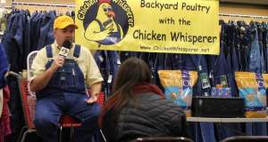 'Chicken Whisperer' explains benefits of backyard poultry