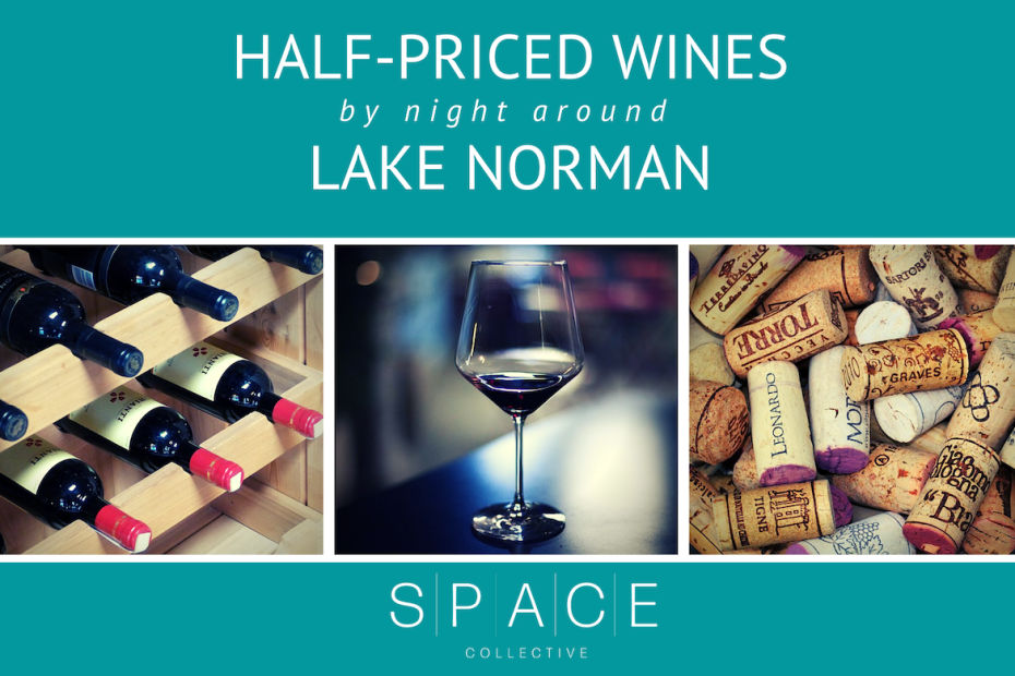 half-priced wines lake norman