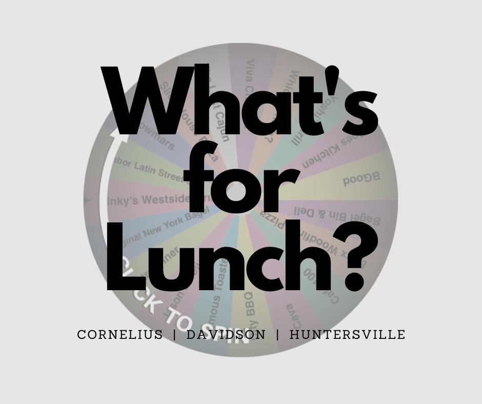 LKN Lunch Decision Wheel