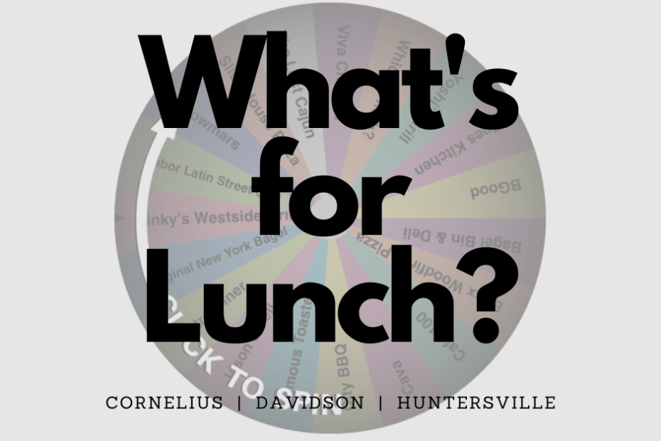 LKN Lunch Decision Wheel