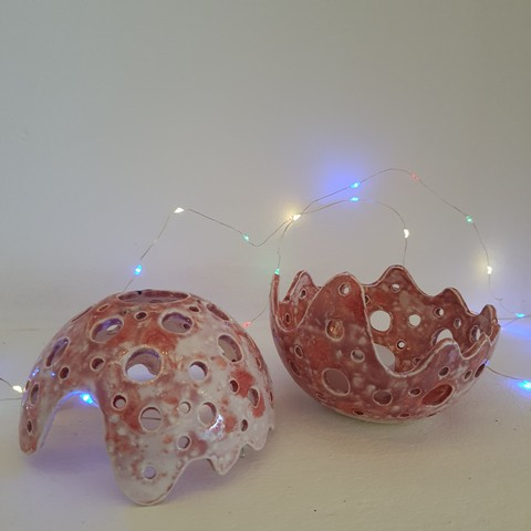 Candy Crush Crystal Sphere with LED night light