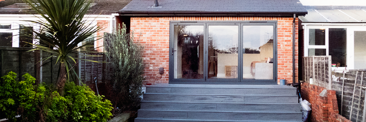 Portsmouth Rear Kitchen Extension, Toilet, Utility and Decking