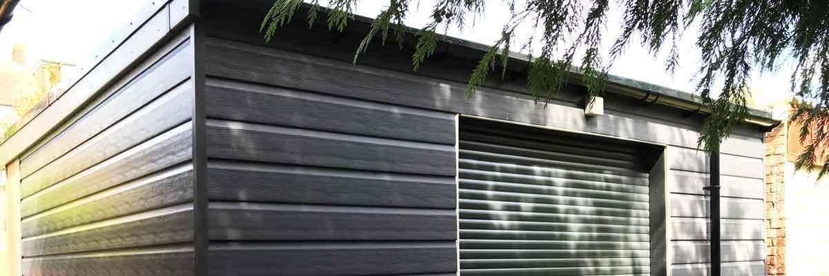 Timber Workshop / Storage Garden Room