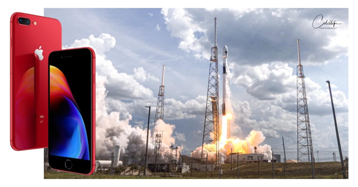 Check out this SpaceX Falcon 9 rocket launch remotely captured with an iPhone 8 Plus - Space Explored