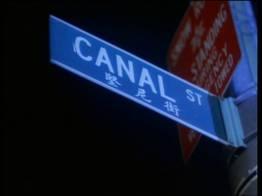 Canal steet - Limite entre Chinatown et Little Italy