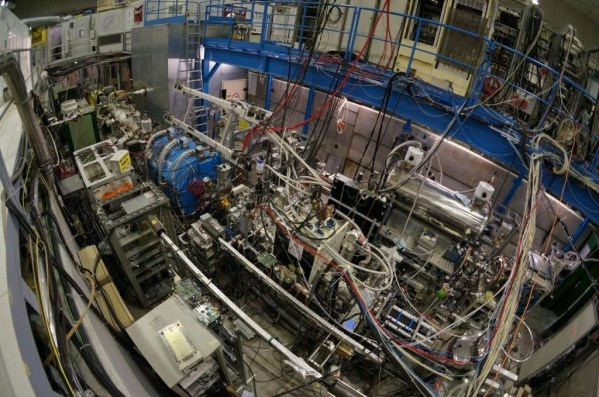 General view of the ASACUSA installation at CERN