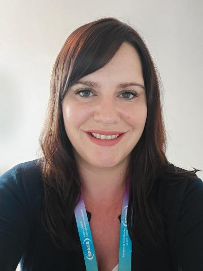 Abby Caslake, Family Support Worker, SPACE Hertfordshire