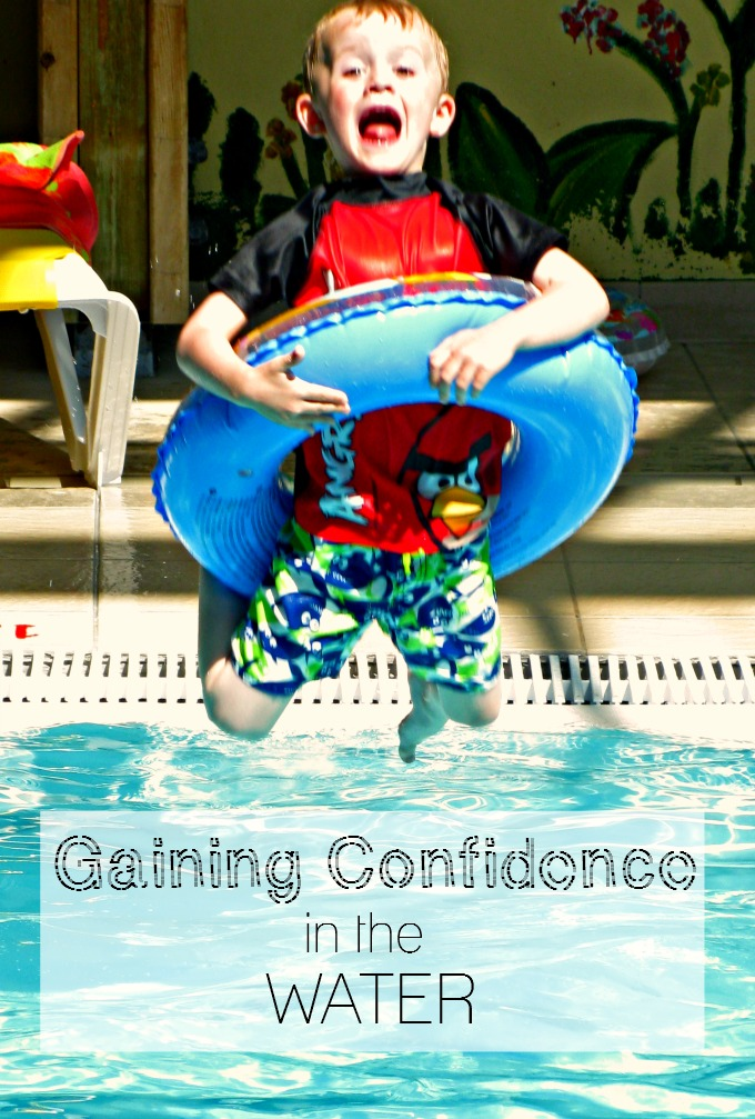 A holiday is the perfect time to help kids gain confidence in the water