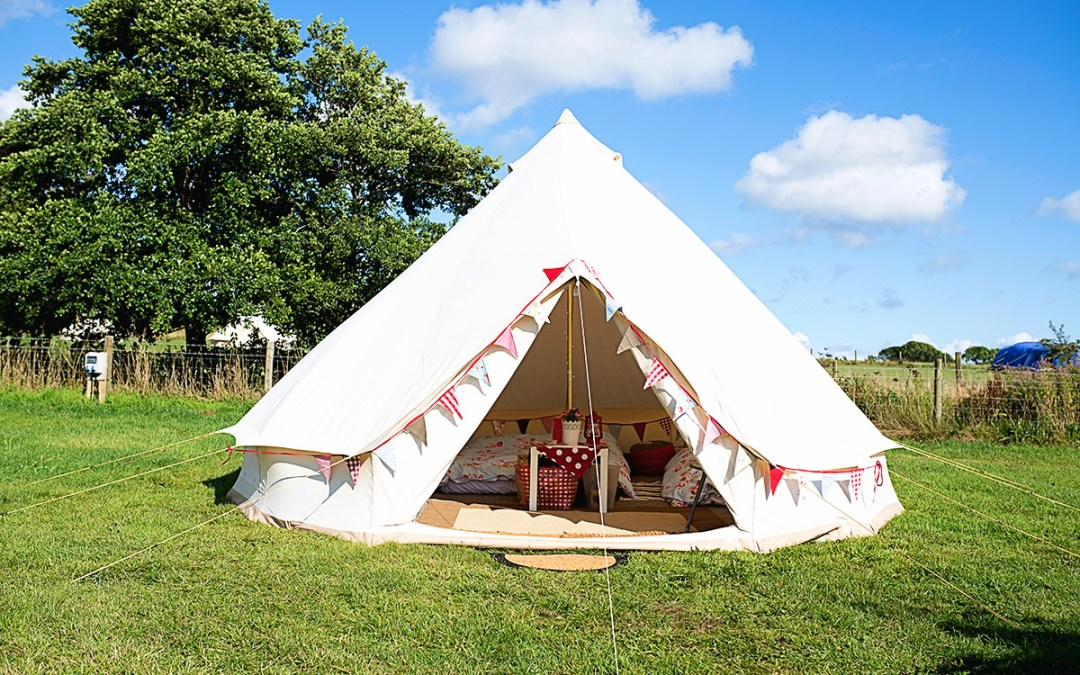 Glamping with Small Children?  Glamping For People Who Hate The Idea Of Camping.