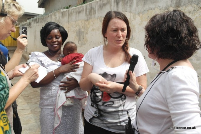 Penny interviewed by Jane Garvey for Women's Hour 2013 from a Health Centre in Ghana