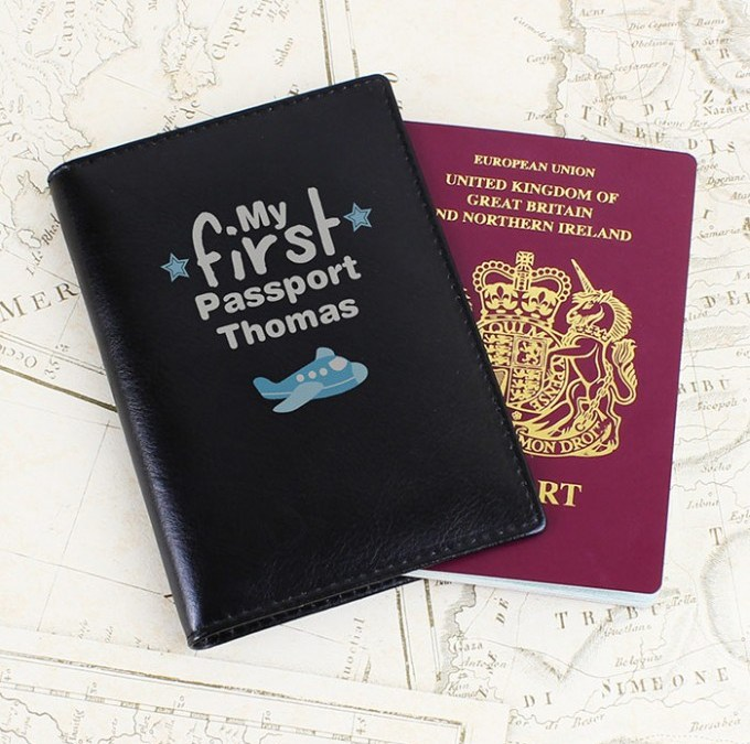 Family Travel Milestones – Their First Passport. A Giveaway