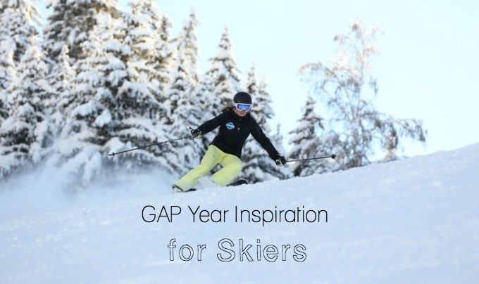 How to spend your GAP year skiing, and get paid