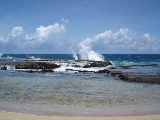 Best Barbados beaches: 'The Spout'