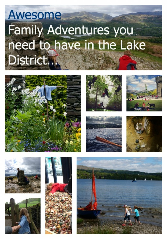 Awesome family adventures Lake district