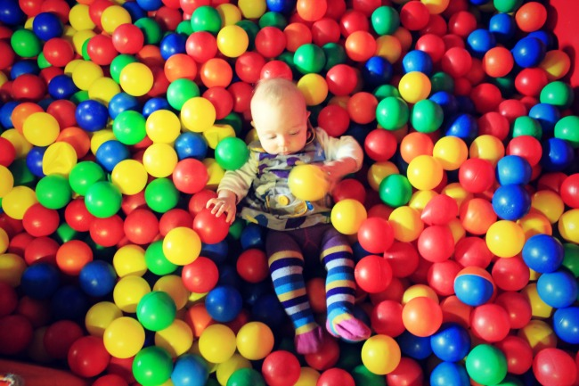 Bedruthan Hotel ball pool
