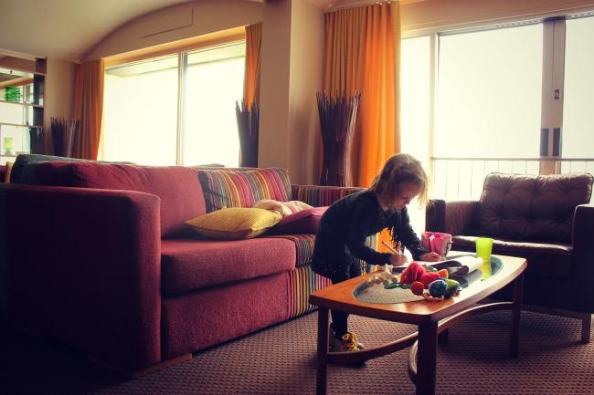 Bedruthan Hotel lounge area