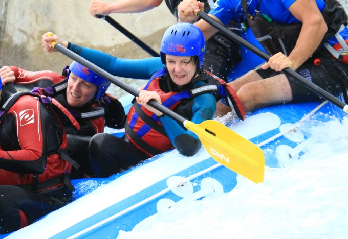 White Water Rafting - it IS for girls! Mums bucket list