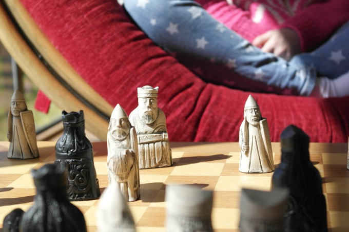 A range of games are available to borrow at Soar Mill Cove hotel