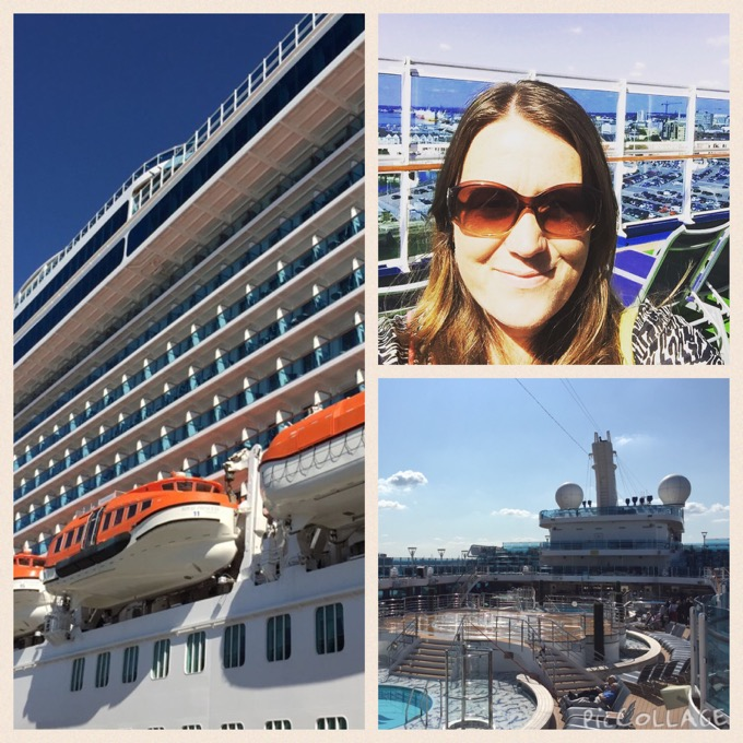 On board Princess Cruises for the day - 3