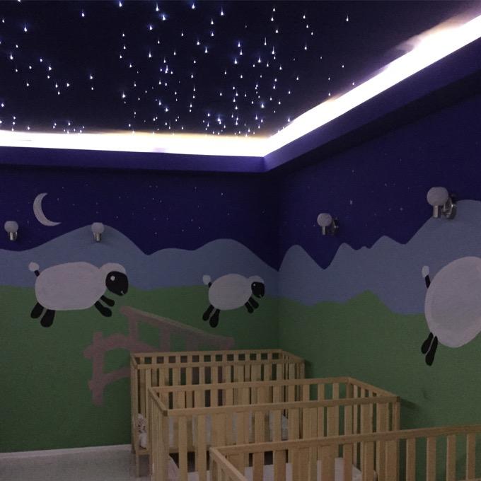 Nursery Sleep Area at Sensatori Fethiye resort