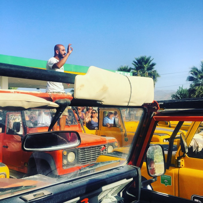 Jeep Safari Sensatori Fethiye