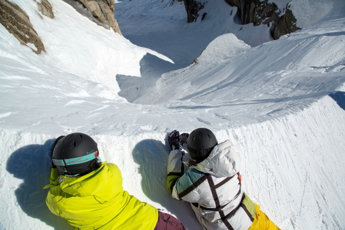 Can you combine extreme skiing with family skiing?