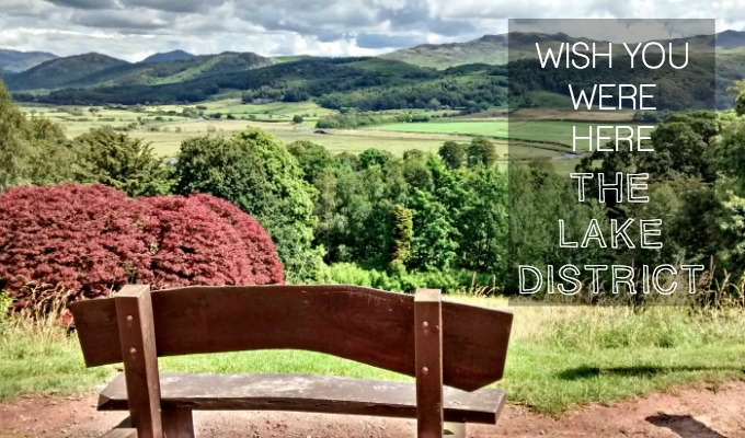 A postcard from Muncaster Castle in the Lake District