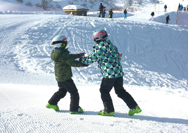 Review: Skiing at half-term plus Children's Ski Gear from Muddy Puddles