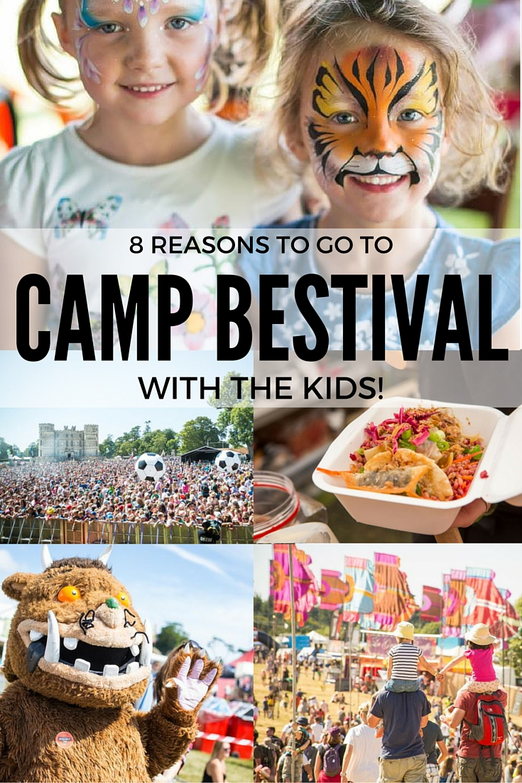 The food! The fun! Here are 8 reasons to take your kids to Camp Bestival this year!