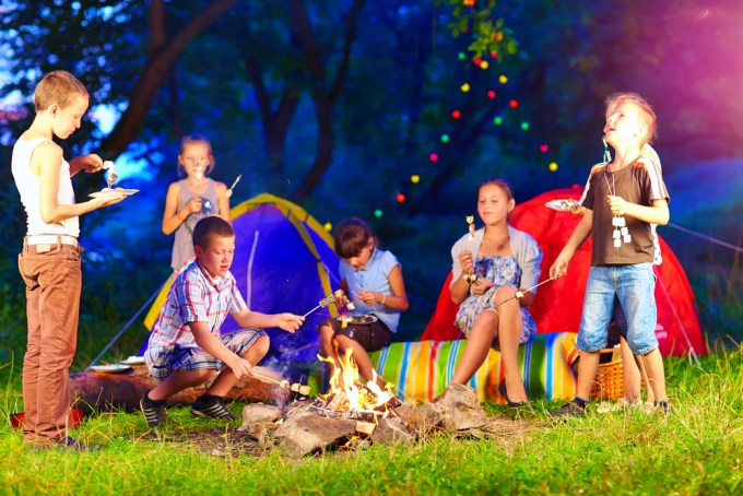 Seven clever ways to have a stress-free trip camping with kids