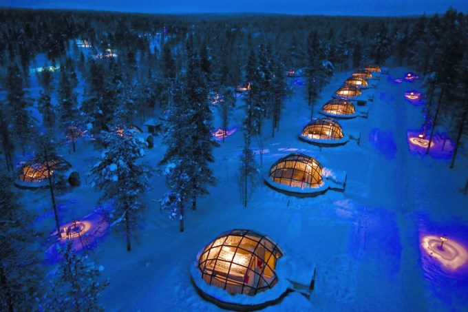 'Igloos' Hotel Kakslauttanen, Finland