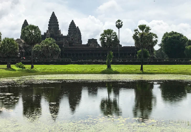 Cambodia with kids - the majestic temple at Angkor Wat is the number 1 Lonely Planet destination in the world!
