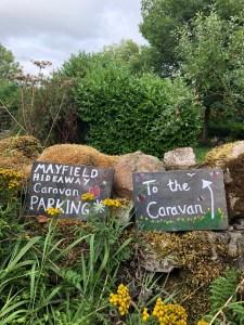 Mayfield Hideaway, Peak District Self Catering Caravan near Dovedale and Alton Towers