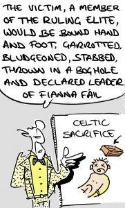 Bogman Cartoon