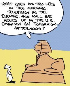 Sphinx Cartoon