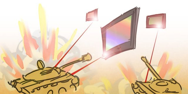 Interactive TV Cartoon