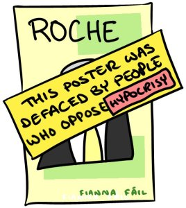 Roche Cartoon