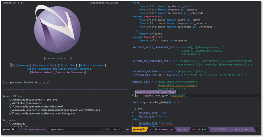 Setting up Spacemacs – My new favorite text editor – LOGIC MEMORY CENTER