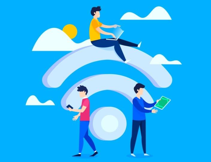 Space Matrix Wireless Internet