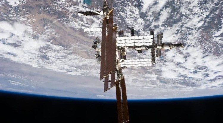 International Space Station as seen from Space Shuttle Atlantis in this July 2011 photograph. Credit: NASA
