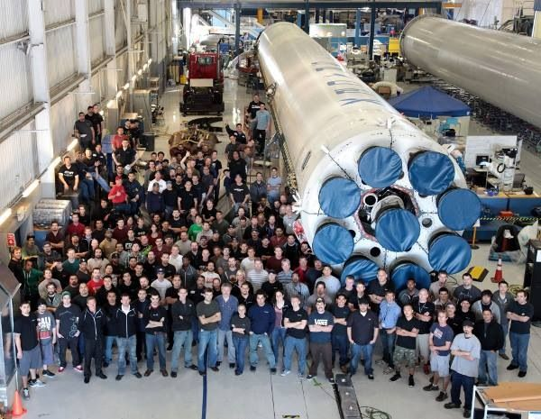 Silicon Valley Meets Production Line As Former SpaceX