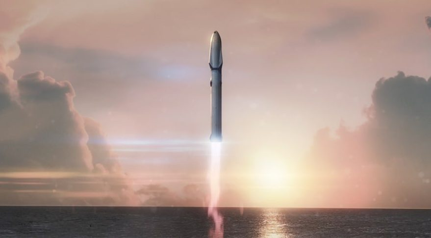 Image result for spacex bfr